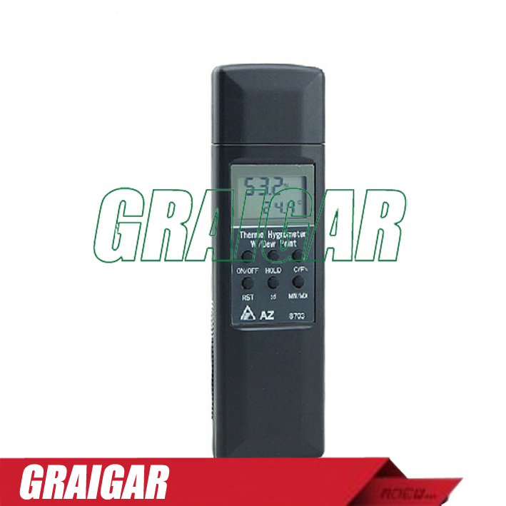 AZ8703 industrial-grade temperature and humidity meter