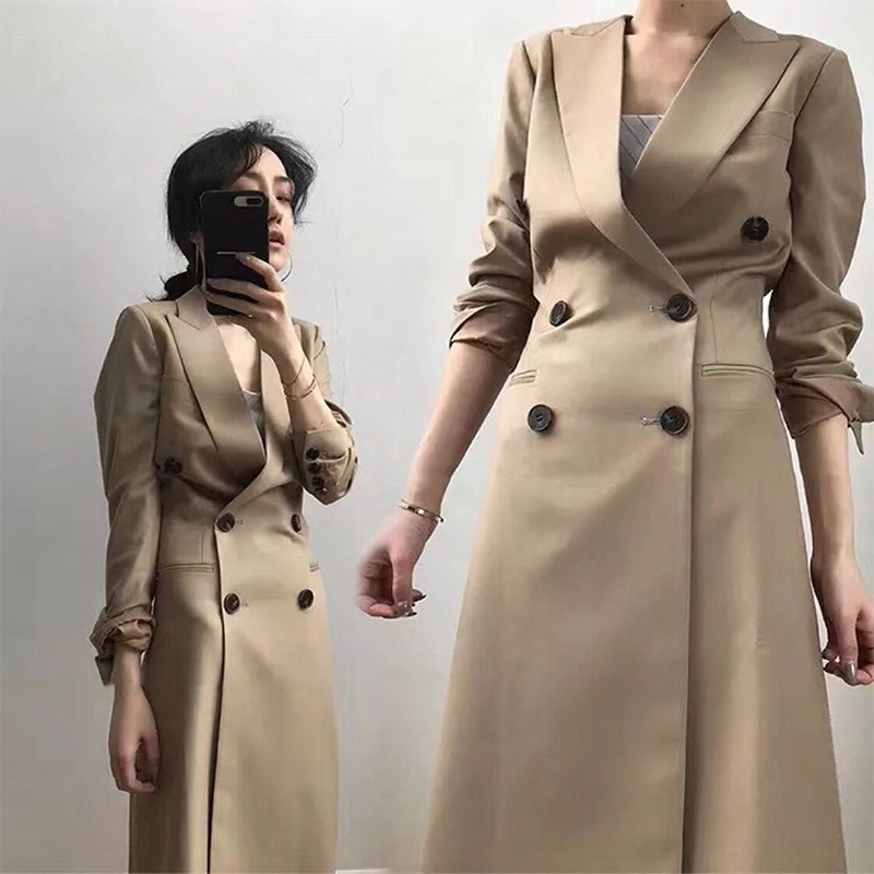 Fashion women comfortable warm long coat new arrival high quality age reduction OL temperament outerwear plus size thick   trench