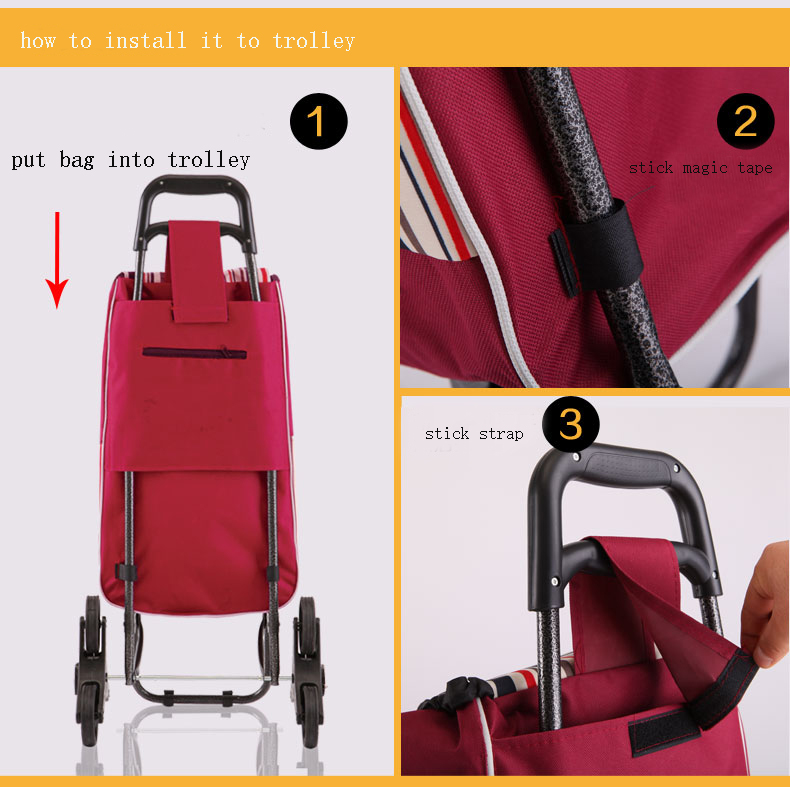 Auto Accessories Bags For Shopping Trolley In Car Cart Bag 1pc On Aliexpress