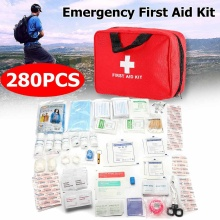 Hot Sale 34 Categories 280Pcs Emergency survival bag Mini Fi
