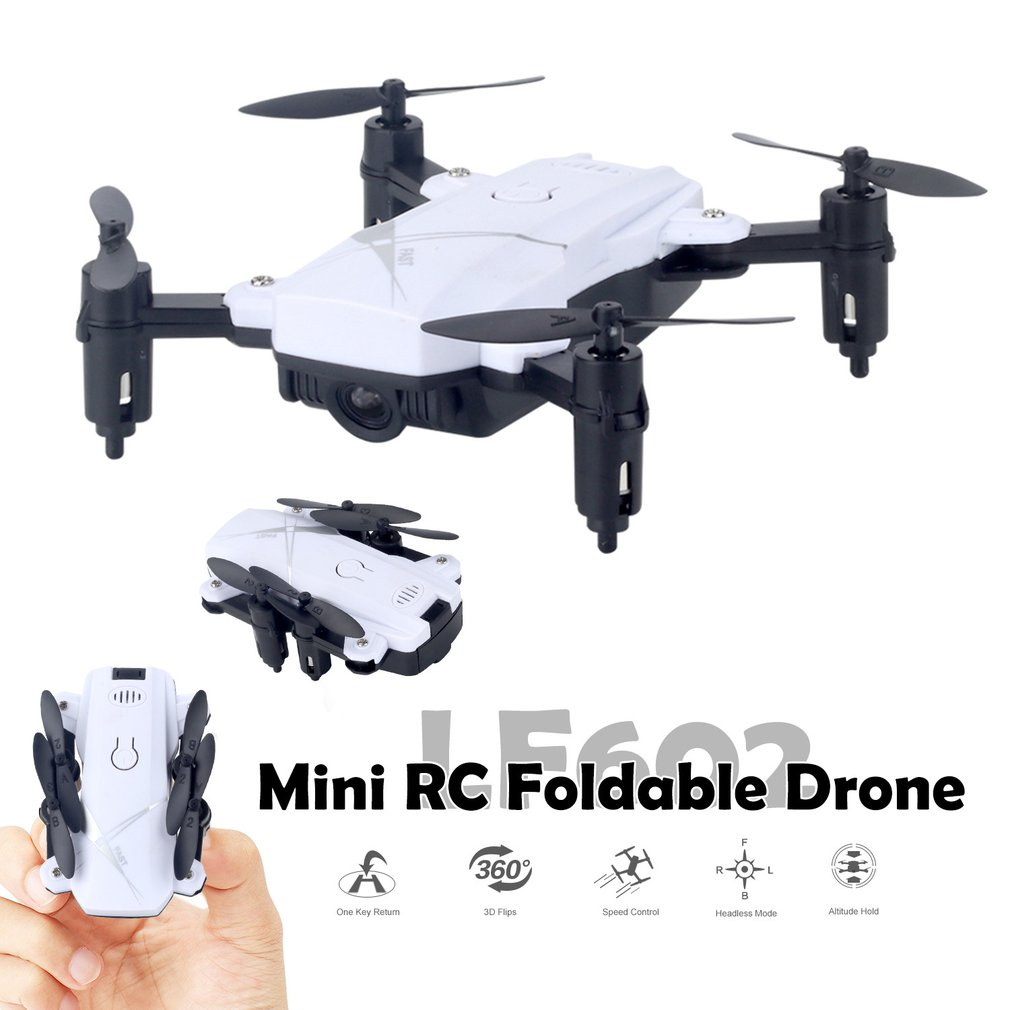 LF602 FPV Foldable RC Quadcopter Drone with 720P HD Wifi Camera and Altitude Hold Function 6