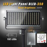 Затемнения Ультра тонкий ультра легкий cri95 192 SMT СВЕТОДИОДНЫЙ свет Панель с очень контроллер Box обеспечивает 5350 MAX просвет на 0.5 м