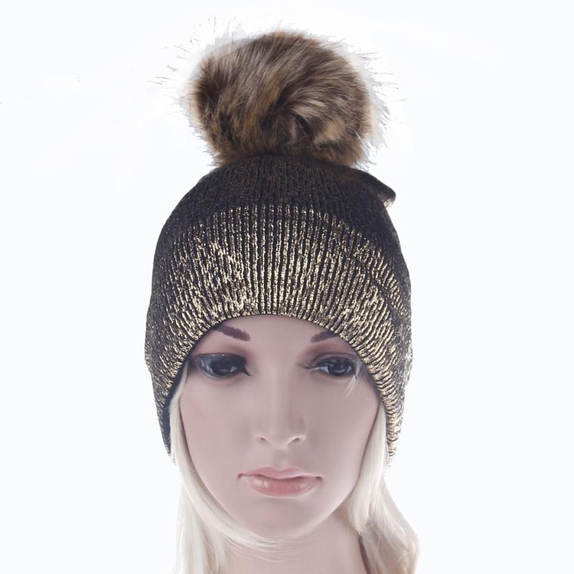 Solido Inverno Moda Donna Uomo Winter Warm Knit Crochet Sci Cappello Turbante Cap Copricapo Apr 09