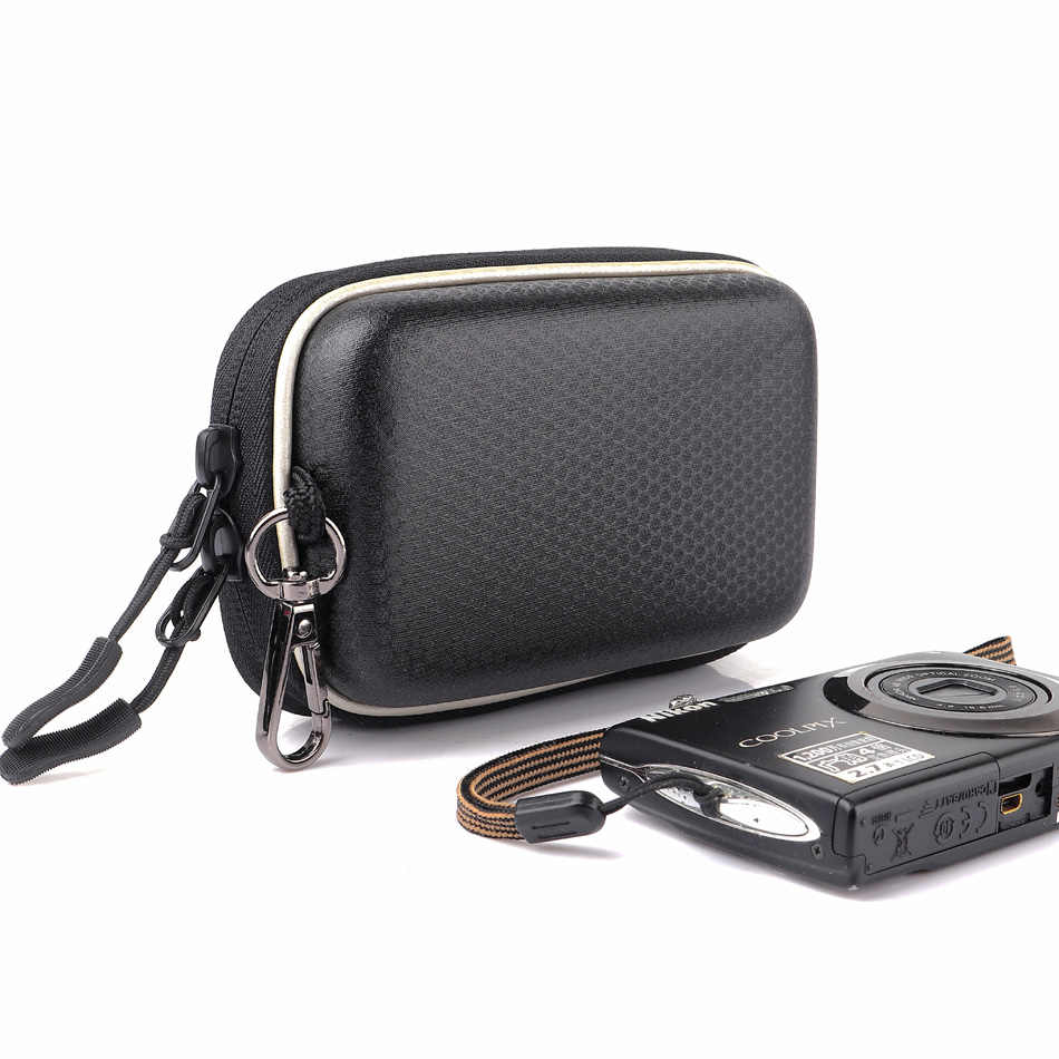 Поясная сумка жесткий Камера сумка чехол для Nikon CoolPix P340 P330 P320 S5300 W300 W100 AW130 AW120 S3600 S3700 L32 L31 S33 S32