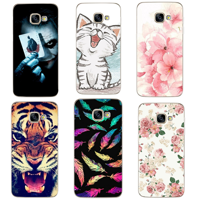 Case For Samsung Galaxy A5 2017 Case Silicon Cover For Samsung <font><b>530F</b></font> 5.2