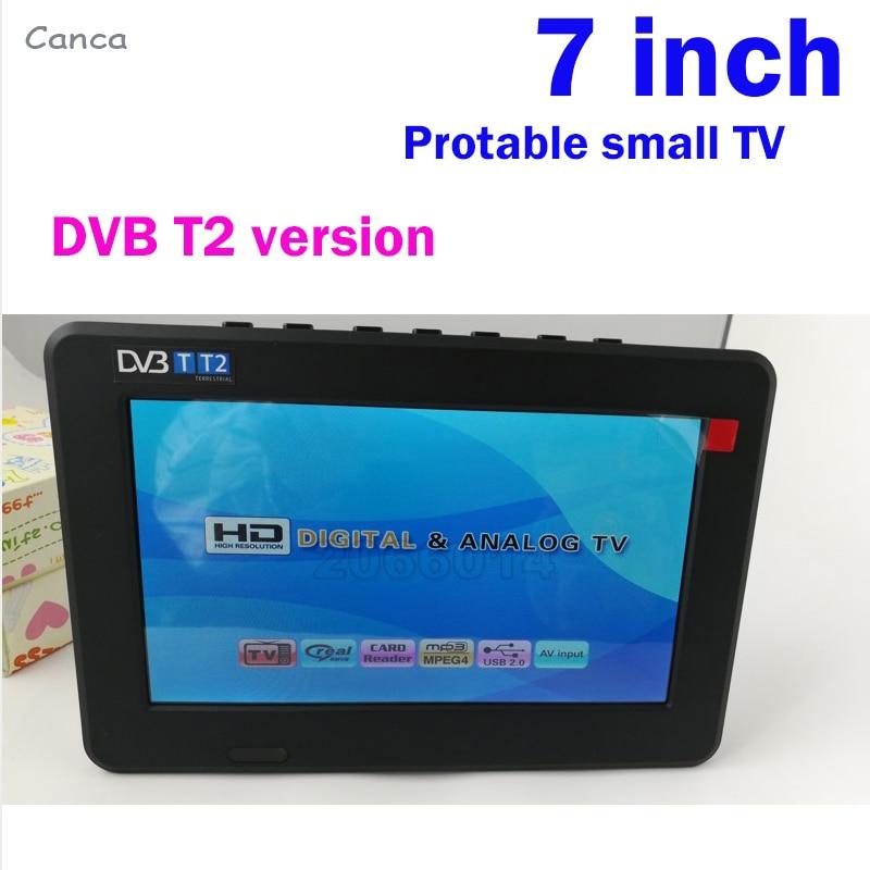 Canca New HD TV 7 Inch Digital And Analos