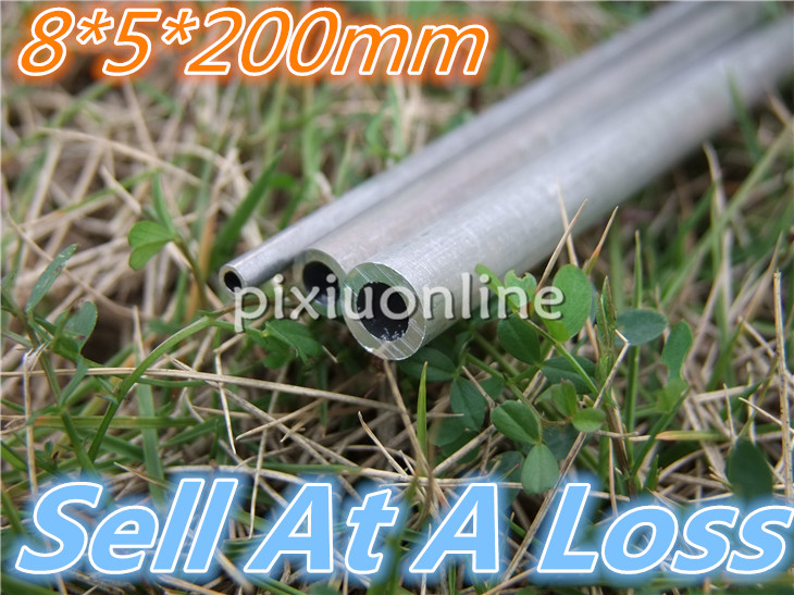 20cm/pack K794 Aluminum Pipe Out Diameter 8mm Inner Diameter 5mm Hollow Circular Tube For DIY Model Making Sell At A Loss USA