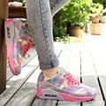 Дышащие Женщин повседневная обувь zapatos mujer 2016 горячей моды Новые Поступления женщин обувь женская Клинья Обувь