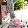 Transpirable Mujeres zapatos casual zapatos mujer 2016 caliente de la manera Nuevas Llegadas de las mujeres zapatos de las mujeres Zapatos de Las Cuñas