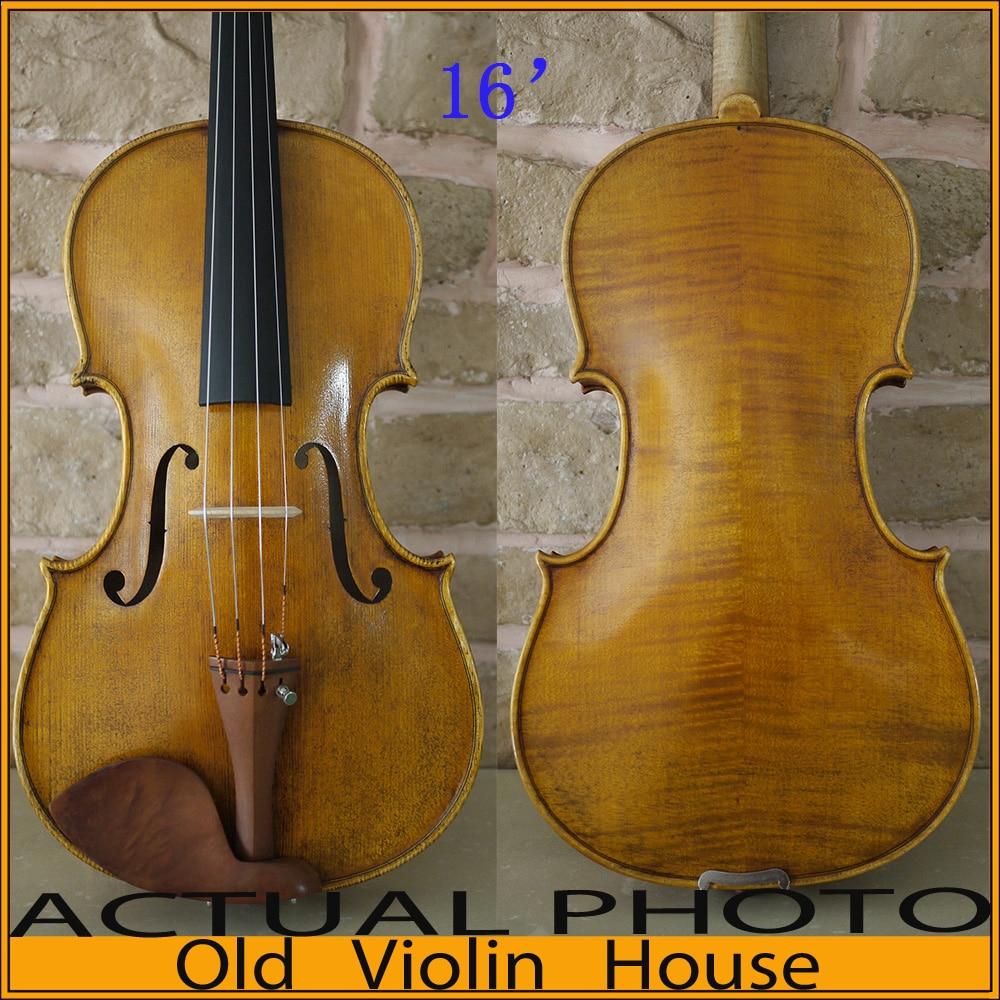A 19Th Century Italian Viola Copy Size 16 Top Handmade Oil Varnish No V25 Viola Handmade