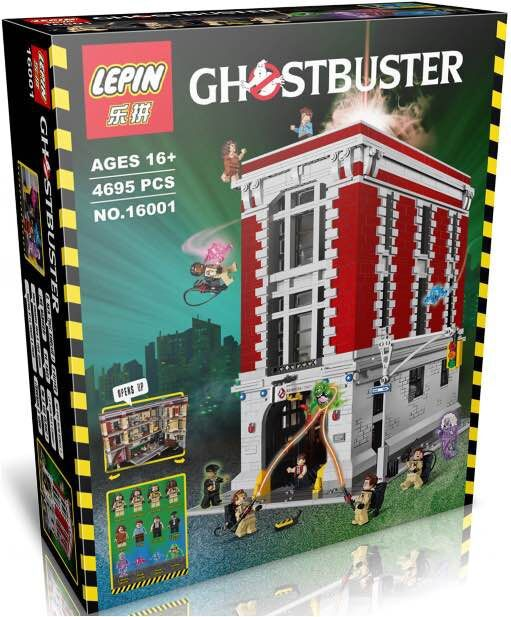 Lepin 16001 architecture creators 4695pcs ghostbusters for Architectural decoration crossword clue
