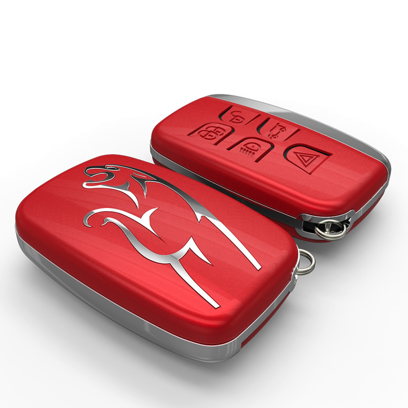 Key Shell Case For Jaguar 5 Buttons Smart Remote Car  Key Auto Durable Car-Styling Car Key Covers