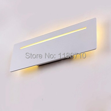Stylish Metal led wall lamp in White modern wall light Free shipping все цены