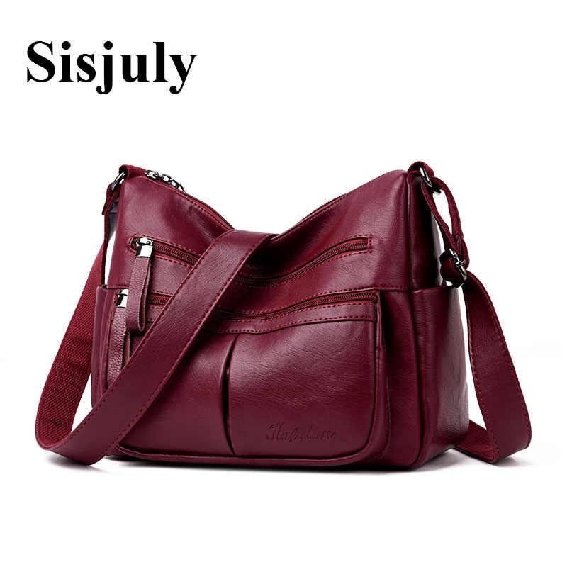 345a67fc032f 2019 двойная молния женская кожаная сумка женская высокое качество плечо  сумки через плечо женские топ-