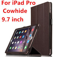 Case Cowhide For IPad Pro 9 7 Inch Protective Smart Cover Genuine Leather Tablet For Apple