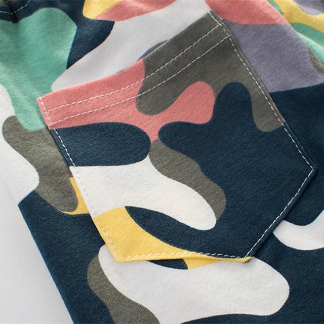 Boys Camouflage Shorts