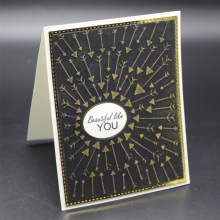 ZhuoAng 2019 new arrow design clip / album decoration card to create a clear seal