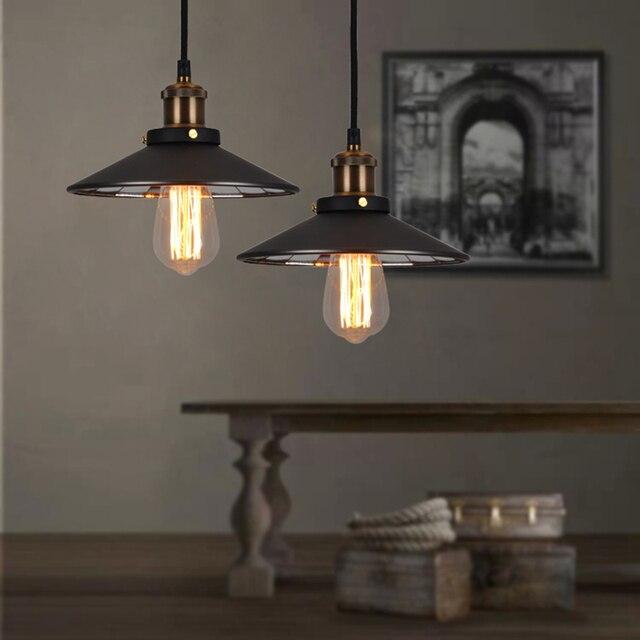US $39.99 |1 stück Amerikanischen loft Eisen designer lampen loft retro  wohnzimmer lampe einzigen kopf der industriellen wind spiegel bronze GY68  in 1 ...