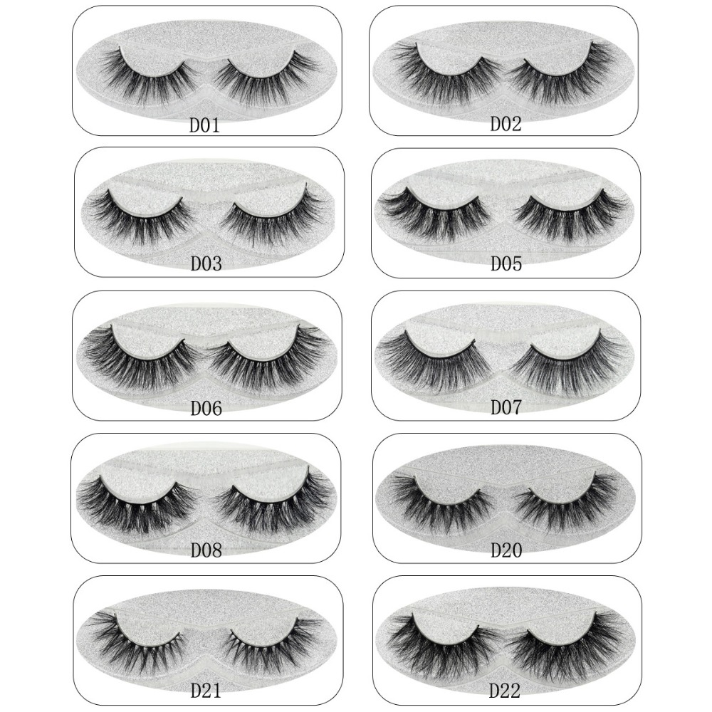 Lash Mink Eyelashes 3D Mink Hair Lashes Wholesale 100% Real Mink Fur Handmade Crossing Lashes Thick Lash 11 Styles New 1Pair best quality yarmee multi functional condenser studio recording microphone xlr mic yr01