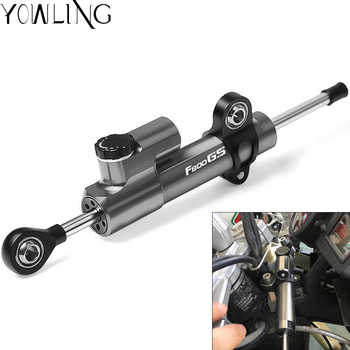 Motorcycle Damper Steering Stabilize Damper Stabilize Safety Control Mounting Holder Kit For BMW F800GS ADV Adventure 2008-2017