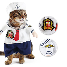 Traumdeutung Small Cats Clothes Clothing Dogs Cos Play For Dress Pets Cat Costume Products Halloween katten kleding chien