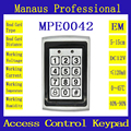 Metal Proximity 1000 Users RFID Door Controller Waterproof Password Keypad Access Control 125KHZ ID Card keyboard System E42a