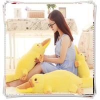 Duck yellow anime Giant stuffed animal bed calico critters plush ty big eyed animals cute pillow kid toys valentine's day gifts
