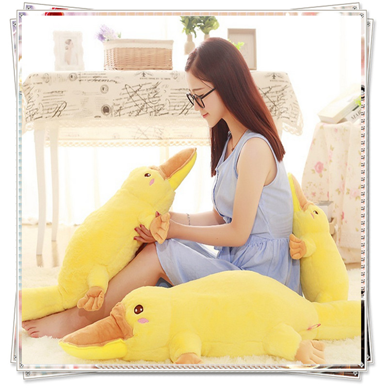 Duck yellow anime Giant stuffed animal bed calico critters  plush ty big eyed animals cute pillow kid toys valentine's day gifts 1pcs 50cm stuffed dolls rubber duck hongkong big yellow duck plush toys hot sale best gift for kids girl