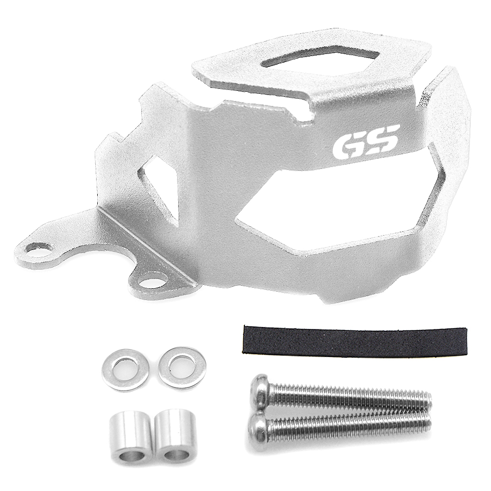 Motorcycle Front Brake Fluid Reservoir Guard Oil Cap Cover Protect FOR BMW F800GS F700GS 2013 2018 Moto Parts F 800GS F 700GS in Covers Ornamental Mouldings from Automobiles Motorcycles