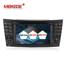 Stokta ücretsiz kargo Android 7.1 octa çekirdek Araba DVD GPS multimedya radyo Mercedes/Benz W211 W209 W219 W463 E-Sınıfı