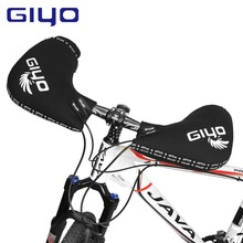 GIYO Winderproof Cycling Glove Winter Plus Velvet Thickening Warmth Mountain Road Bike Bicycle Riding Handle Protective Gloves