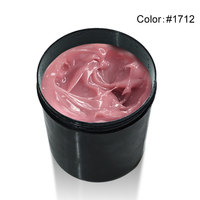 #820 canni supply Venalisa 1 kg nail art transparante clear wit roze camouflage kleur uv/led hard jelly builder nail breiden gels