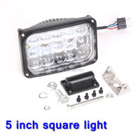 45W 5inch Black Diecast Aluminum Housing LED Projector Work Light for Jeep,Harley,Offroad car, Sand rails, Cars, Truck