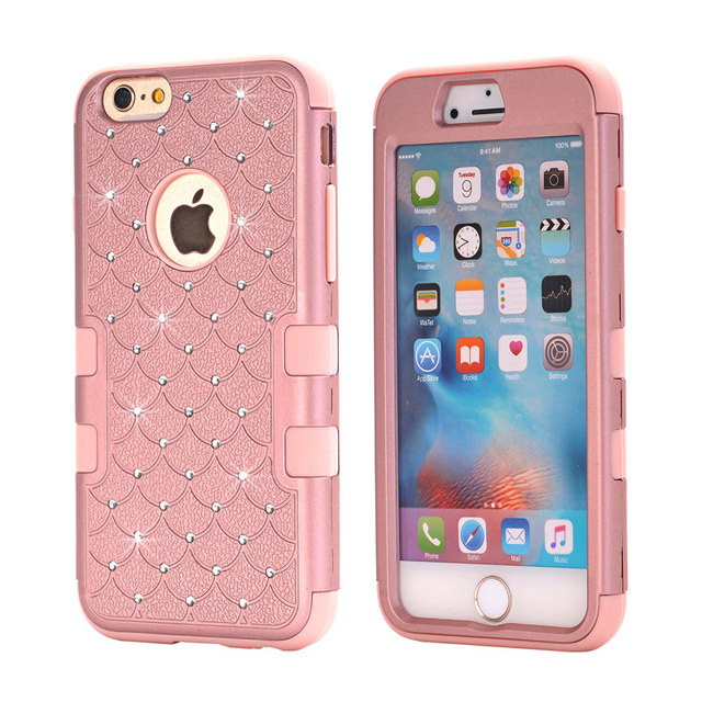 Aliexpress.com : Buy Bling Glitter Case for iPhone 6 6S ...