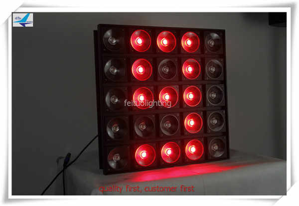 5x5 led panel 25x30w 3in1 rgb pixel beam led matrix stage light dot control led blinder club wash light