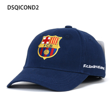 a1ca3bd458a Wholesale Cotton Baseball Caps High Quality World Cup Barcelona Team Hat  Snapback Caps Bone Hats For