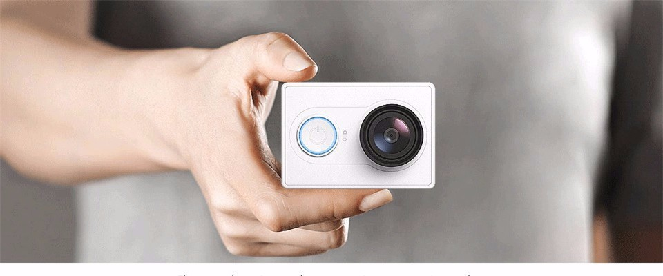 [International Edition]Original Xiaomi YI Action Camera Xiaoyi 1080P Sports Camera WiFi 3D Noise Reduction 16MP 60FPS Ambarella 5