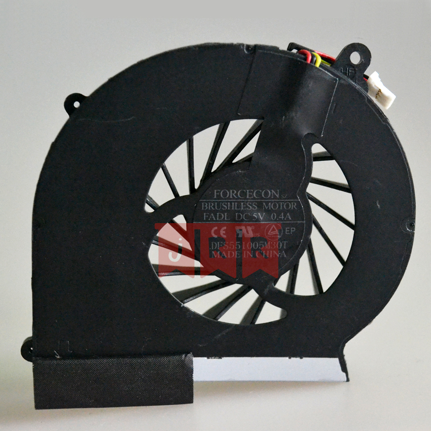 100% Original New CPU Fan for HP CQ43 G43 CQ57 G57 646184-001 647318-001 646181-001 647316-001 3 pins cq43  cpu cooling fan new forcecon dfs551005m30t fadl cooling fan for hp cq43 cq57 647316 001 cpu cooling fan with heatsink