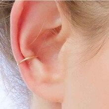 PINJEAS Fake ear piercing earrings handmade simple faux cuff ear clip