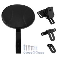 Detachable Motorcycle Rider Plug In Driver Rider Seat Backrest Kit Motorcycle Seat Backrest For Harley 1988 2017