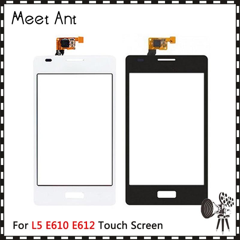 High Quality 4.0 For LG Optimus L5 E610 E612 and Dual E615 Touch Screen Digitizer Sensor Outer Front Glass Lens PanelHigh Quality 4.0 For LG Optimus L5 E610 E612 and Dual E615 Touch Screen Digitizer Sensor Outer Front Glass Lens Panel