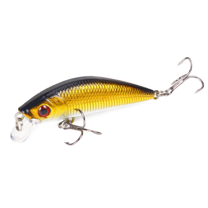 1 PCS Minnow Fishing Lure 70mm 8.5g 3D Eyes Crankbait Wobblers Artificial Plastic Hard Bait Peche Fishing Tackle FC79