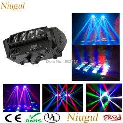 Мультиметр... Высокое качество 8X10 W Мини светодиодный Паук свет DMX512 светодиодный перемещение головного света RGBW диодный луч клуб DJ освещение...