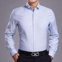 J.Del'or New Arrival Men Cotton Fancy/Calssical Dress Shirt Blue Plaid Long Sleeve Slim Fitting High Quality Euro.Design