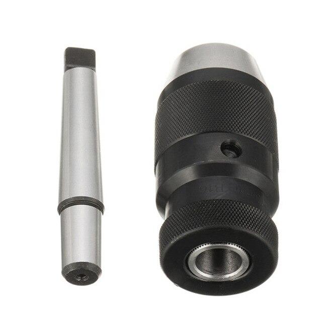 1 ensemble MORSE #2 #3 MT2 MT3 JT6 gamme 1-13mm 1-16mm mandrin auto-serrant mandrin sans clé pour perceuse perceuse conique mandrin