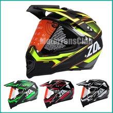 Мотоцикл Мотокросс внедорожные шлем с козырьком Гонки Gear Мотоцикл Байк Racing ATV UTV защитный шлем M, L XL Multi