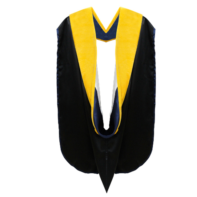 University Academic Bachelor Graduation Hood Polyester Graduation ...