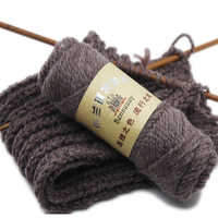 500g/Lot Alpaca Thick Mohari Wool Crochet Yarn For Visan Hand Knitting Soft Sweater Hat Scarf Cashmere Thread Lot Laine Tricote