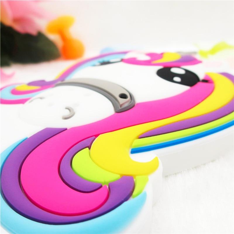 The Rainbow Unicorn  Silicon Phone Case