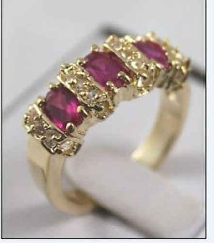 จัดส่งฟรี> >>>สวยแหวนคริสตัลขนาด7 8 9 # tfun x